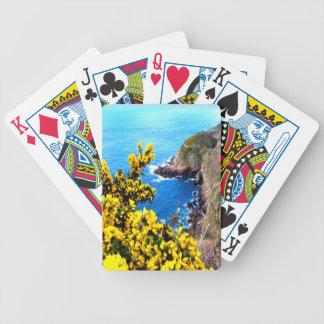 Küsten-Blüte Bicycle Spielkarten