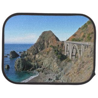 Küsten-Landstraße 1 - große Nebenfluss-Brücke Autofußmatte