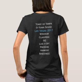 Küstenlas- vegasShirt der harmonie-Regions-9 T-Shirt