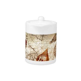 KüstenSeepferd Seashell Seekarte