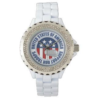"""""""Küstenwache-"""" Unterstützung unsere Truppe-Uhr Armbanduhr"""