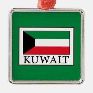Kuwait Silbernes Ornament