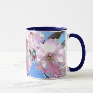 Kwanzan asiatische Kirschostblüte Tasse