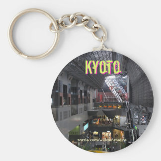 Kyoto-Stations-Innenraum Schlüsselanhänger
