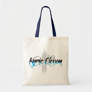 Kyrie Eleison Taschen-Tasche Budget Stoffbeutel