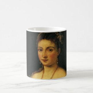 La Bella, Herzogin von Urbino durch Titian Kaffeetasse