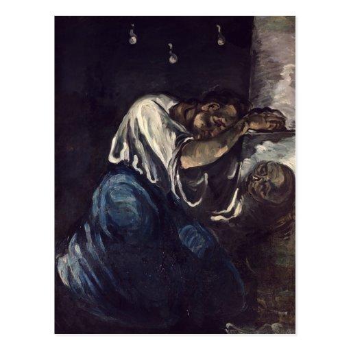 La Madeleine oder La Douleur, c.1869 Postkarte