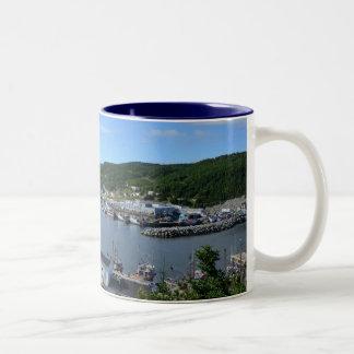 La Scie, Neufundland Zweifarbige Tasse