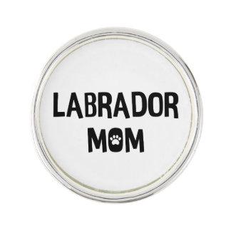 Labrador-Mamma Anstecknadel