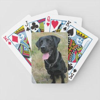 Labrador-Retrieverhundeschönes Foto, Geschenk Poker Karten