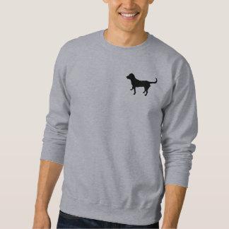 Labrador-Silhouette des Sweatshirts der Männer