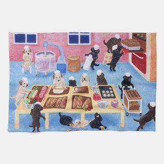 Labradors Bäckerei-Geschirrtuch Handtücher