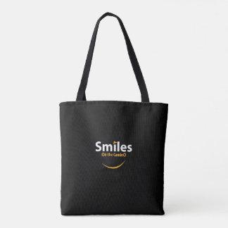 Lächeln auf der Camino Taschentasche