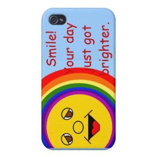 Lächeln hellerer iPhone Fall iPhone 4 Cover