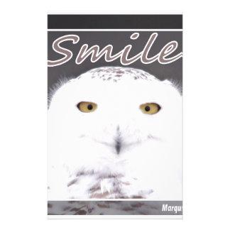 Lächeln Individuelles Büropapier