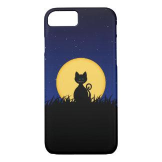 Lächeln-Katze Halloween iPhone 8/7 Hülle