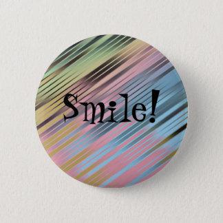 Lächeln! Runder Button 5,1 Cm