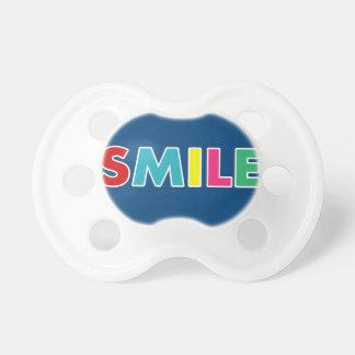 Lächeln! Schnuller