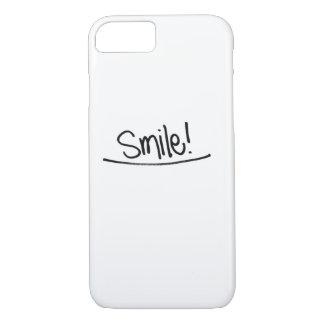 Lächeln-Telefon-Kasten iPhone 8/7 Hülle