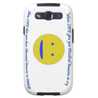 Lächeln zum Leben Samsung Galaxy S3 Etui