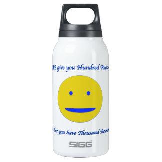 Lächeln zum Leben Thermoflaschen