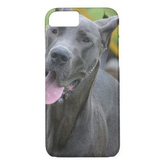 Lächelnde Deutsche Dogge iPhone 8/7 Hülle