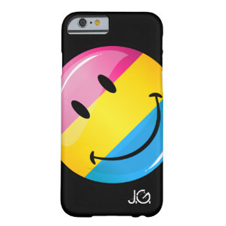 Lächelnde Pansexual Stolz-Flagge Barely There iPhone 6 Hülle