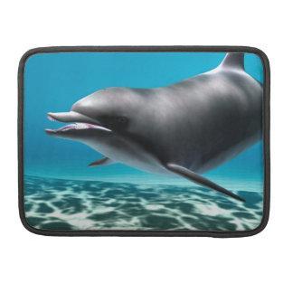 Lächelnder Delphin MacBook Pro Sleeve
