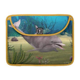 Lächelnder Delphin Sleeve Für MacBooks