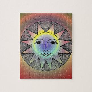 Lächelnder Sun Puzzle