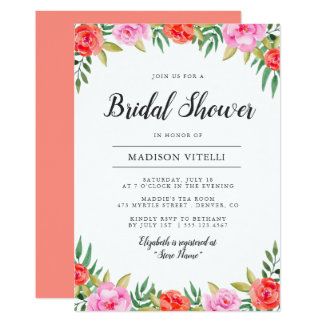 Laugh with Me | Bridal Shower Invitation