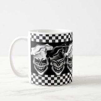 Lachende Kochs-Schädel Kaffeetasse