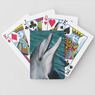 Lachender Delphin Bicycle Spielkarten