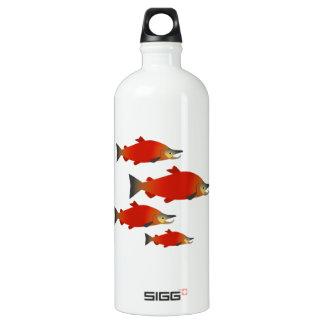 LachsKundgebung Wasserflasche