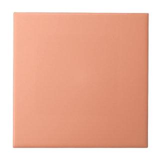 Lachssonnenuntergang-Schablone Kleine Quadratische Fliese