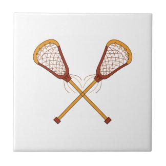 Lacrosse-Stöcke Keramikfliese