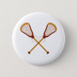 Lacrosse-Stöcke Runder Button 5,1 Cm