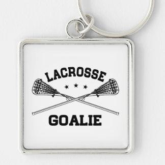 Lacrosse-Tormann Schlüsselanhänger