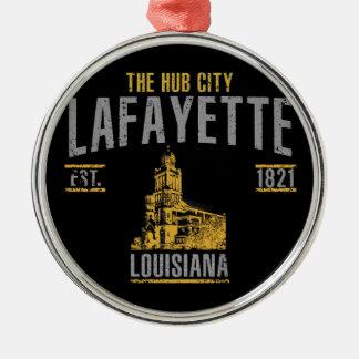Lafayette Silbernes Ornament