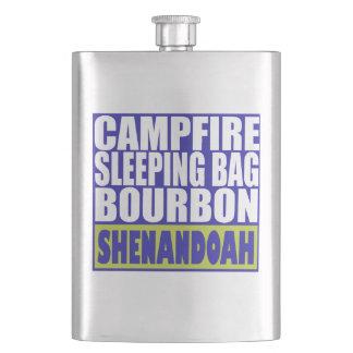 Lagerfeuer-Schlafsack Bourbon Shenandoah Flachmann