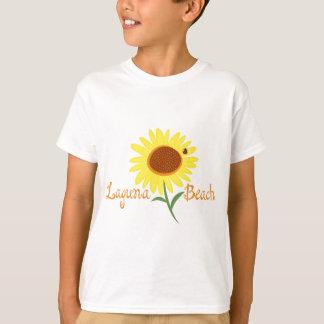 Laguna Beach-Sonnenblume-T-Stück T-Shirt