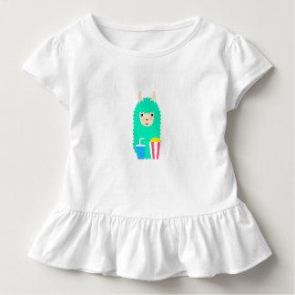 Lama Emoji Film-Liebhaber Kleinkind T-shirt