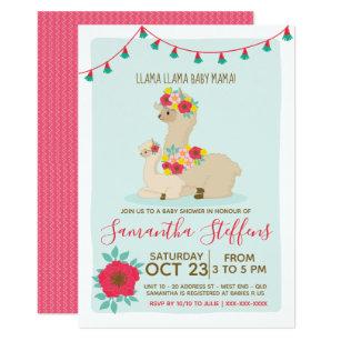 Lama Lama Baby Lama Babyparty Einladung Einladung