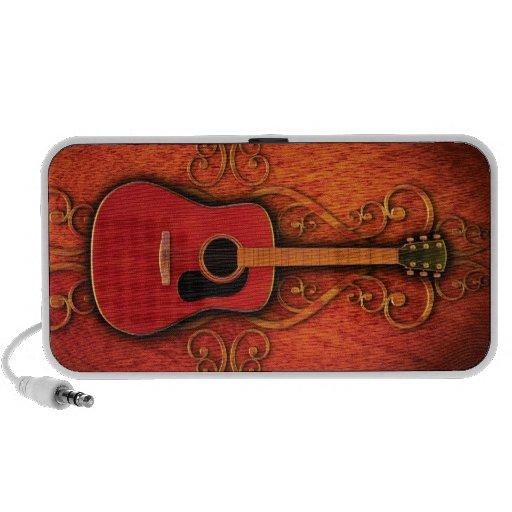 Land-Gitarren-Lautsprecher Notebook Lautsprecher