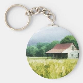 Land-Kabine Schlüsselanhänger