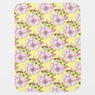Land-Libellen-Blumen-Gelb Unisex Puckdecke