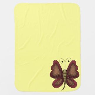 Land-Schmetterlings-Gelb Unisex Puckdecke