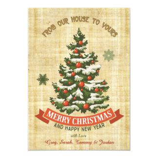 Land-Weihnachtsgruß 12,7 X 17,8 Cm Einladungskarte