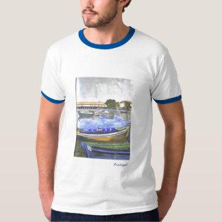 Landschaft das Aquarell, Lehmgrube, Portugal, T-Shirt