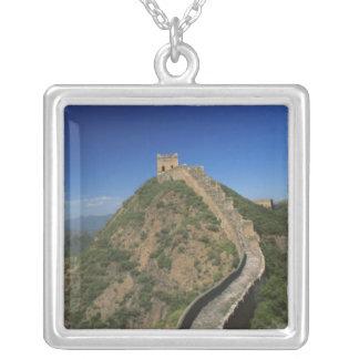 Landschaft der großen Wand, China Versilberte Kette